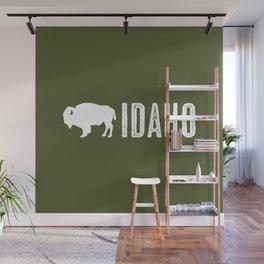 Bison: Idaho Wall Mural