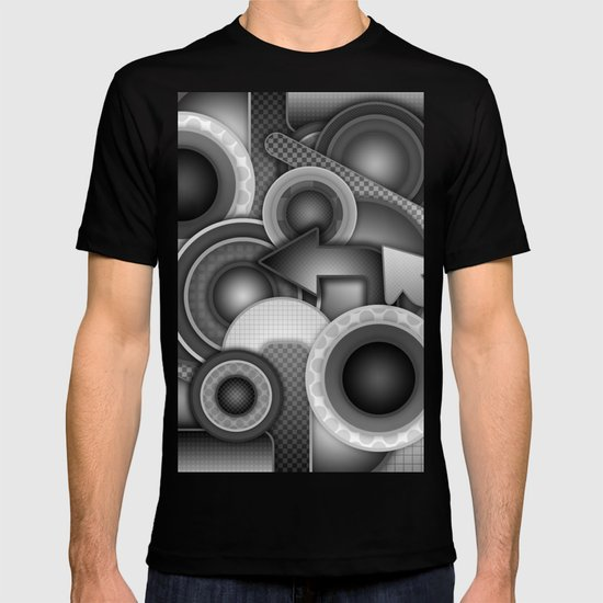 Monochrome Mayhem  T-shirt