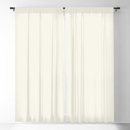 Neutral Off White Cream Solid Color Parable to Betsy's Linen White 7005-16 by Valspar Blackout Curtain