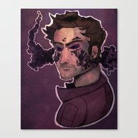 starlord Canvas Prints featuring Starlord by Livvy