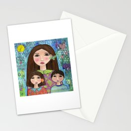 My Love , My Children; Boy and Girl by Elizabeth Claire Stationery Cards