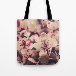 hydrangea - pink freckles Tote Bag