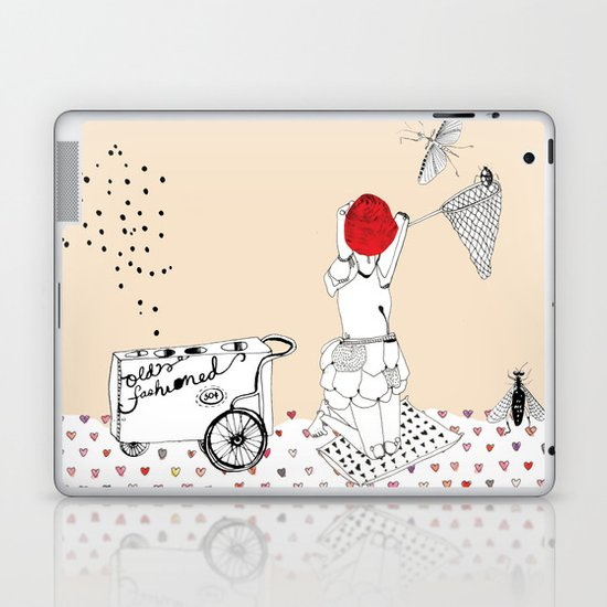 Catch more flies with honey... Laptop & iPad Skin