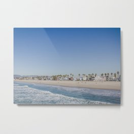 California Dreamin - Venice Beach Metal Print