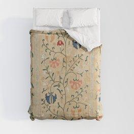 Uzbekistan Suzani Nim Embroidery Print Comforters