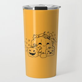 Jack o Lantern Party Travel Mug