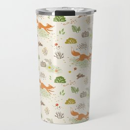 Woodland chase Travel Mug