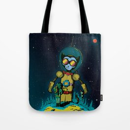 Giant Cats from Outer Space! Tote Bag