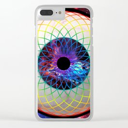 Eye Candy Clear iPhone Case