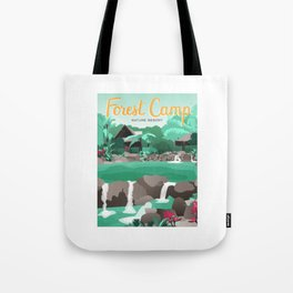 Forest Camp | Valencia Tote Bag