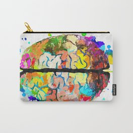 Human Brain Carry-All Pouch