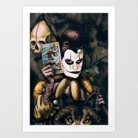 Tarot & Totems Art Print