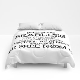 BECOMING FEARLESS - Divergent Comforters