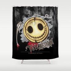 Totenknopf Shower Curtain