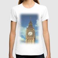 ben giles T-shirts featuring Big Ben by MarioGuti