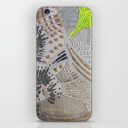 Oh! Embroidered 2 iPhone Skin