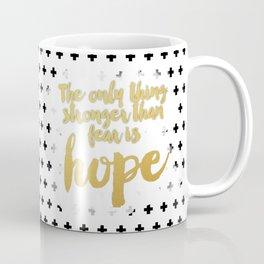 Hope Trumps Fear Coffee Mug