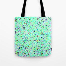 Colorful Rain 04 Tote Bag
