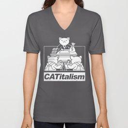 CaTitalism Unisex V-Neck