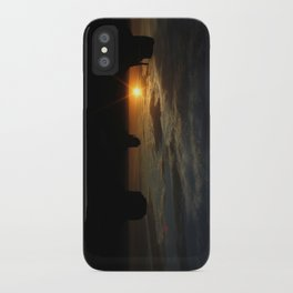 Sunrise over Monument Valley East & West Mitten Buttes iPhone Case