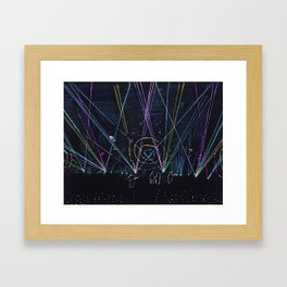 Cold Play Framed Art Print