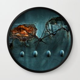 Fragments of Time: Iron Horse Series No. 017 Wall Clock