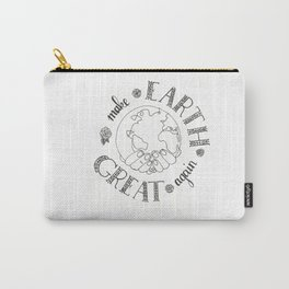Earth Day Carry-All Pouch