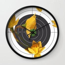 Spring Fling Wall Clock