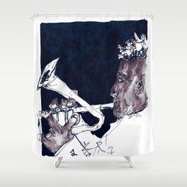 christian scott Shower Curtain