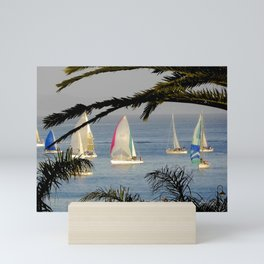 regatta night Mini Art Print