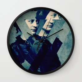 TheDecomposed Composer Clara Wieck Wall Clock