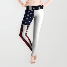 United states flag Leggings