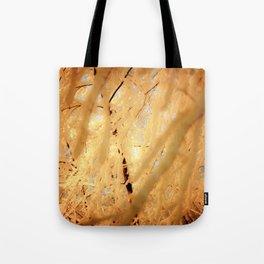Winters Dark Path Tote Bag