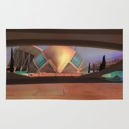 City of Arts and Sciences (Valencia-Spain) Rug