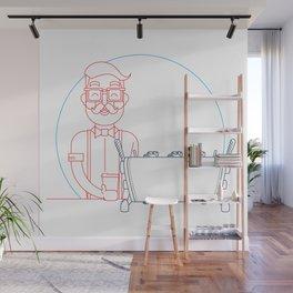 Coffee (lineart) Wall Mural