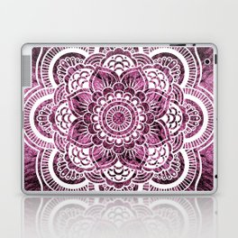 Mandala Mauve Colorburst Laptop & iPad Skin