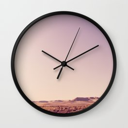 Desert Sand Dune Landscape Wall Clock