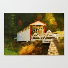 Jackson's Mill Bridge Canvas Print