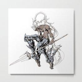 Muu Alexius Djinn Equip Barbatos 5 Metal Print