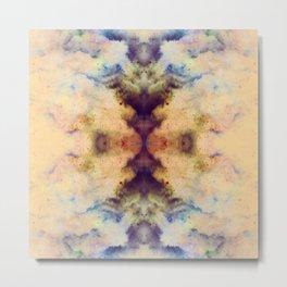 Nagahide - Abstract Space Mandala Metal Print