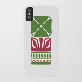 Nordic Green Flower iPhone Case