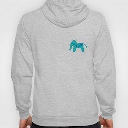 Turquoise Elephant Hoody