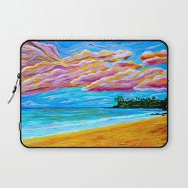 Pāʻia Bay Sunrise Laptop Sleeve