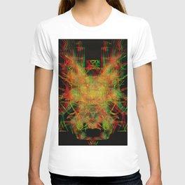 3D Mechanical Antelope T-shirt