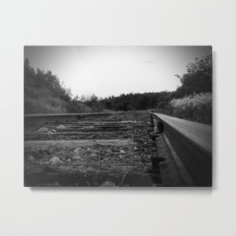 A Scene in Time of a Time Gone By Metal Print