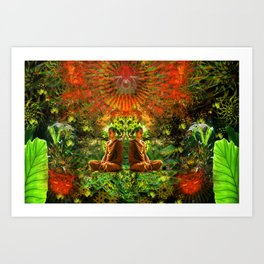 Glow of The Mind Art Print