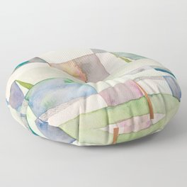 The Clothes Line Floor Pillow
