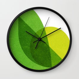 Citronella Wall Clock