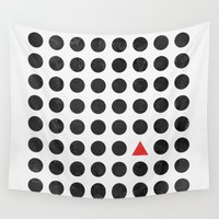 minimalism Wall Tapestries featuring Minimalism 2 by Mareike Böhmer