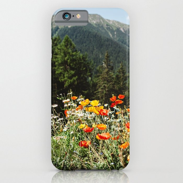 mountain garden iphone case